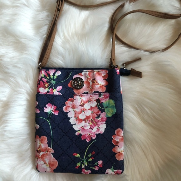 FLORAL CROSSBODY PURSE mini bag